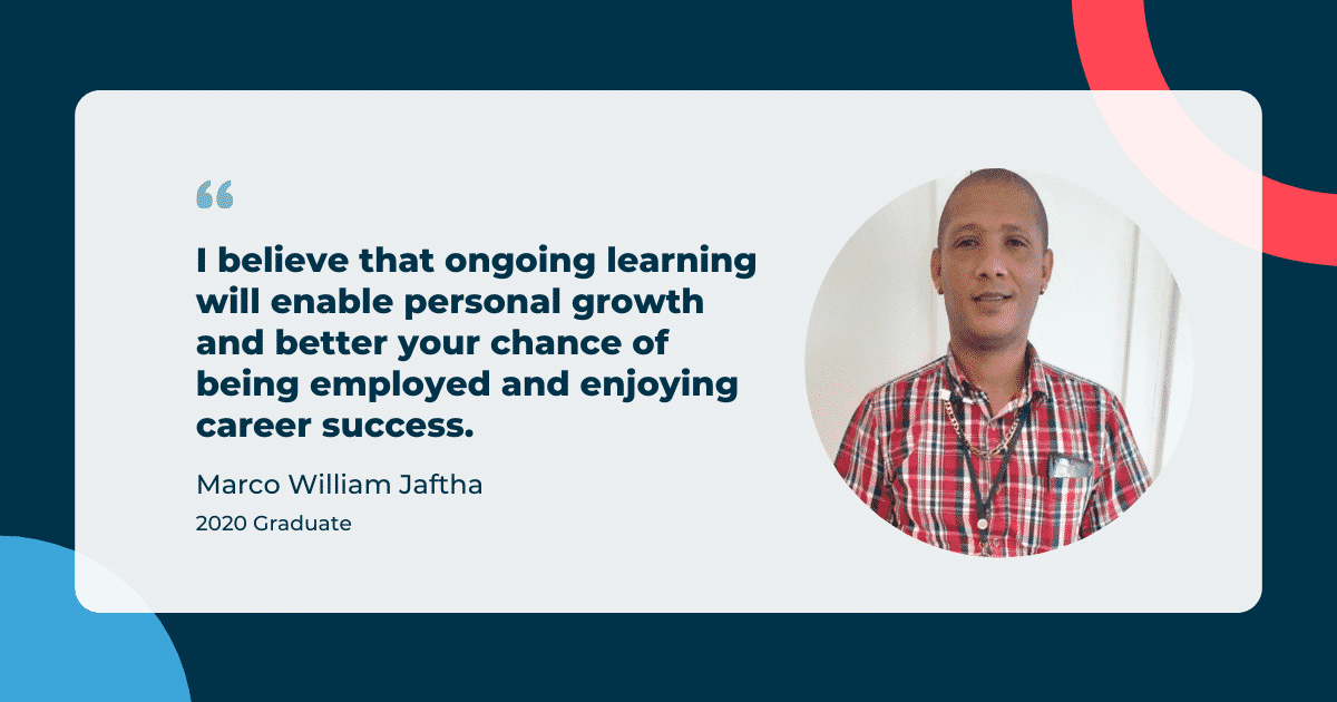 Marco William Jaftha - iQ Academy Graduate Success Story
