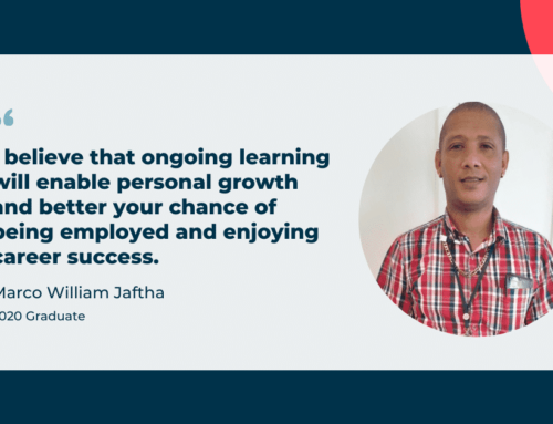 See how Marco's passion for learning led to his career success