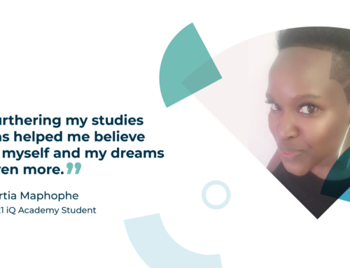 Final semester student Portia talks to us about her inspiration for studying and how to keep motivated